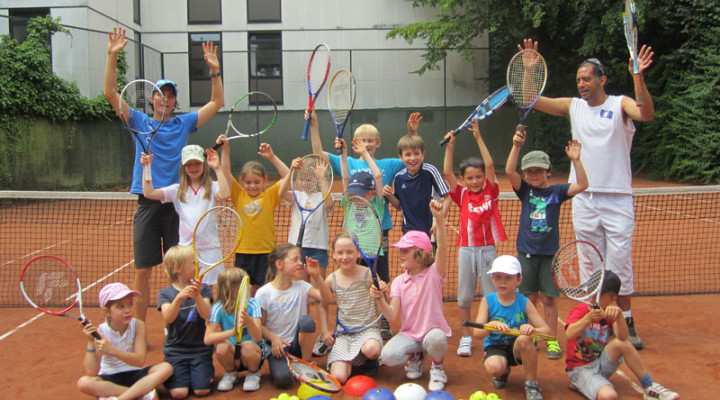 Kinder Tennis Camp
